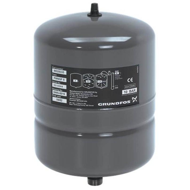 Vertical Grundfos Pressure Vessels