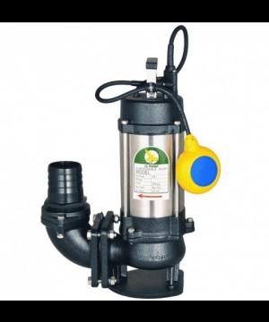 JS 1500 SV Submersible Waste Water/Sewage Vortex Pump - 230v