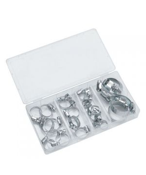 Clarke CHT672 Assorted Hose Clip Set