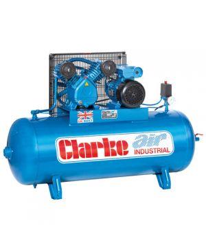 Clarke XEV16/150 (OL) 14cfm 150Litre 3HP Industrial Air Compressor (230v)