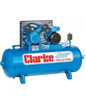 Clarke XEV16/200 (OL) 14cfm 200Litre 3HP Industrial Air Compressor (230v)
