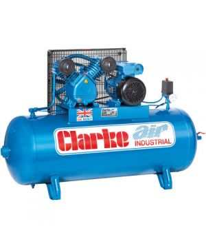 Clarke XEV16/150 (WIS) 14cfm 150Litre 3HP Industrial Air Compressor (400v)