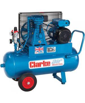 Clarke XEP15/50(OL) 14cfm 50Litre 3HP Portable Industrial Air Compressor (230v)