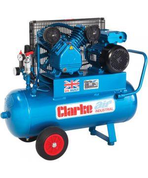 Clarke XEPV16/50 (OL) 14cfm 50Litre 3HP Portable Industrial Air Compressor (110v)