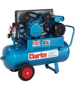 Clarke XEPV16/50 (OL) 14cfm 50Litre 3HP Portable Industrial Air Compressor (230v)
