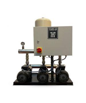 Stuart Turner Aquaboost  ABB 0906 3H-SPC/M Horizontal Triple Booster Set - 230v - Single Phase - 750 Ltr/min