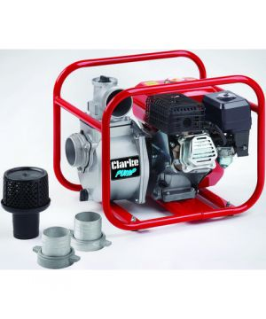 "Clarke PW80A 3"" Petrol Powered Water Pump"