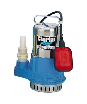 """Clarke GSE1A 1"""" Stainless Steel Submersible Pump - 230v - Single Phase - 180 Ltr/min"""