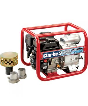 "Clarke PS75A Petrol Powered 3"" Semi-Trash Water Pump"