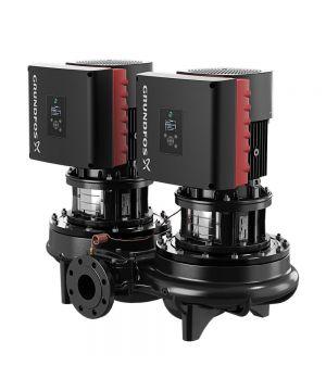 Grundfos TPED 125-160/4 S-A-F-A-BQQE-MDA Twin Head In Line Circulator Pump - 415v