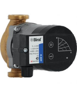 Biral AXW 12-1 Domestic Circulator Pump - 230v