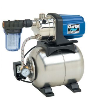 "Clarke BPT1200SS 1"" Stainless Steel Booster Pump - 230v"