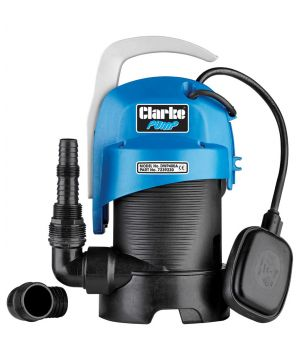 Clarke DWP400A  Dirty Water Submersible Pump - with Float Switch - 230v