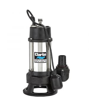 Clarke HSEC1400A Heavy Duty Submersible Cutter Pump - With Float - 230v