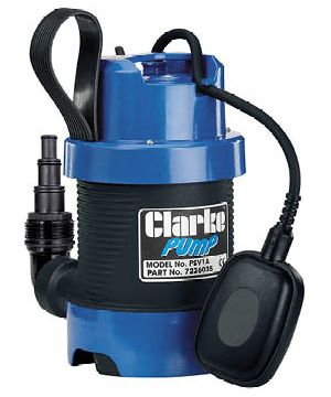 Clarke PSV1A Dirty Water Submersible Pump - 230v