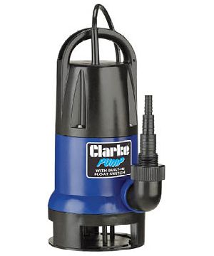 Clarke PSV5A Submersible Pump - With integrated Float Switch - 230v