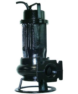 DGO 200/2/80 automatic submersible sewage pump c/w F-type float switch and capacitor box, 230v.