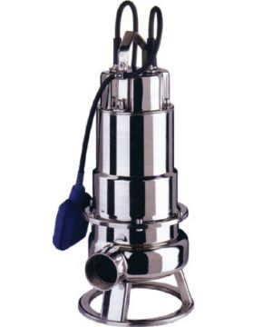 Ebara DW M 75 VOX A Sewage Pump - Vortex Impeller - With Float Switch