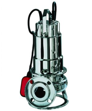 Ebara DWF M 100 A Submersible Pump - With Channel Impeller - With Float Switch - 230v