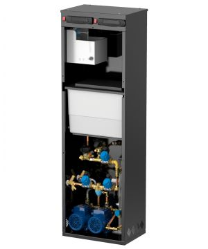 Flamco PressDS Plus 2160D Combined Degasser & Pressurisation Unit - Twin Pump - 8-16 Bar