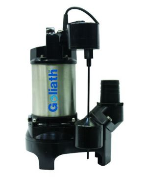 Goliath Super Automatic Submersible Pump - 230v
