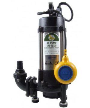 JS - GS1200A Sewage Grinder Pump - Automatic - 230v