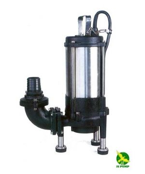 JS GST-22 Heavy Duty Sewage Grinder Pump  - Manual - 415V - 2 Inch