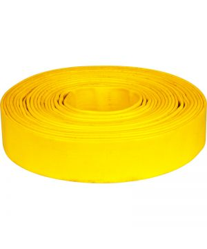 "Heavy Duty Lay Flat Yellow Hose - 1 1/4"" (per metre)"