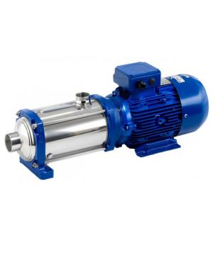 Lowara 10HM06S22T5RVBE (e-HM) Stainless Steel Horizontal Multi-Stage Pump - 400v - 3 Phase