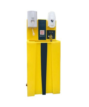 Pedrollo Portable Outdoor Hand Wash WashStation - Cold Water - Gravity to Drain