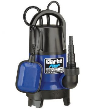 Clarke PSV6A 400W Submersible Pump - With Folding Base