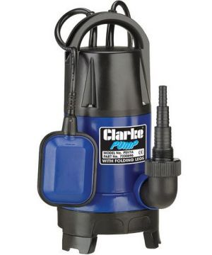 Clarke PSV7A 750W Submersible Pump - With Folding Base