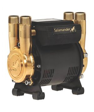 Salamander CT Force 20PT Brass Regenerative Positive Head Shower Pump - 2 Bar - Twin Impeller