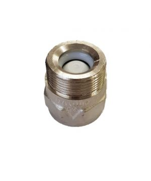 Nickel Chrome Plated Non-Return Valve - 1 ¼ Inch