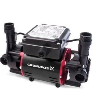Grundfos STR2 2.0C Bar Twin Impeller Positive Regenerative Shower Pump