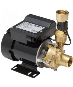 Stuart Turner PH 45 ES FL Auto-Flow Brass Peripheral Booster Pump (Nitrile/Carbon/Ceramic Seals) 240V (46567)