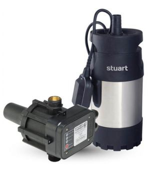 Stuart Turner Diver 45B Boostamatic Submersible Drainage Pump - with Float Switch - 240v