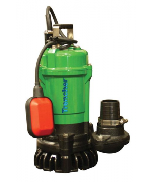 TT Pumps Trencher T400F Submersible Drainage Pump - Automatic - 110v